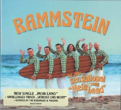 Rammstein - Mein Land [CD Single] (2011) HQ