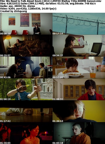 We Need to Talk About Kevin (2011) LiMiTED BluRay 720p x264-Ganool