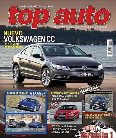 Top Auto Marzo 2012 (Spain)