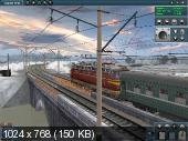 Trainz Simulator 2010: Engineers Edition + Доп. (Repack Alkad/RUS)