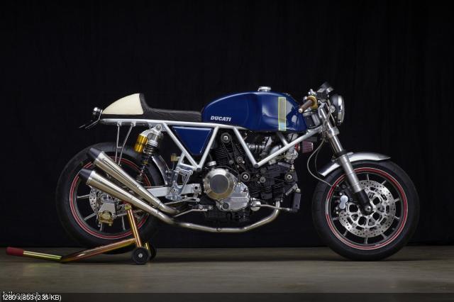 Мотоцикл Riviera Ducati от Уолта Сигла