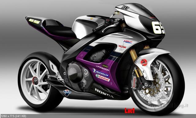 Концепт мотоцикла Moto Guzzi MGS02