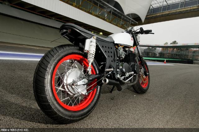Мотоцикл Honda CB500 Cafe 1974