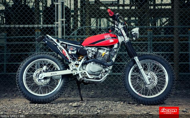 Кастом Icon Kitten на базе Honda CRF230 (HD фото)