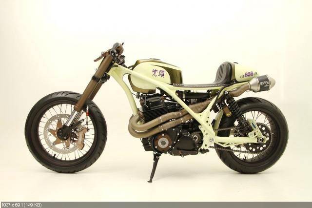 Мотоцикл Honda CB750F Neo Cafe Racer -AFT Customs