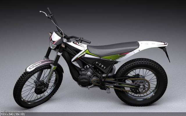 Концепт мотоцикла Ossa Explorer