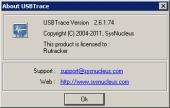 SysNucleus USBTrace 2.6.1.74 (2011 г.) [английский] Скачать торрент
