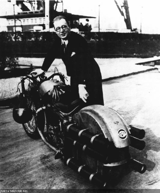 Ракетный мотоцикл Опеля