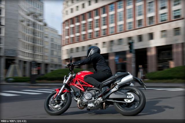 Новый мотоцикл Ducati Monster 795 2012