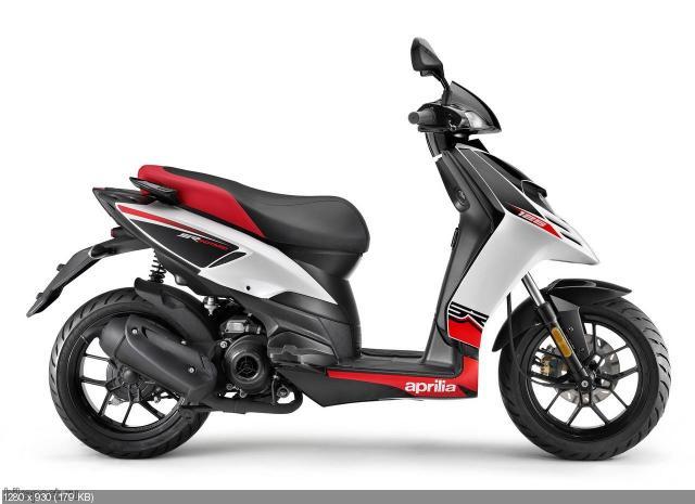 Новый скутер Aprilia SR Motard 50/125 (2012)