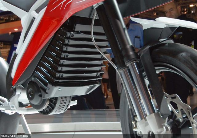 Концепт электроцикла Husqvarna E-Go на EICMA 2011
