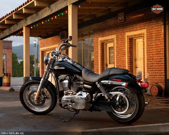 Мотоцикл Harley-Davidson FXDC Dyna Super Glide Custom 2012