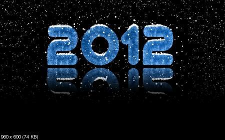 Новогодние и Рождественские обои для рабочего стола 2012 № 1