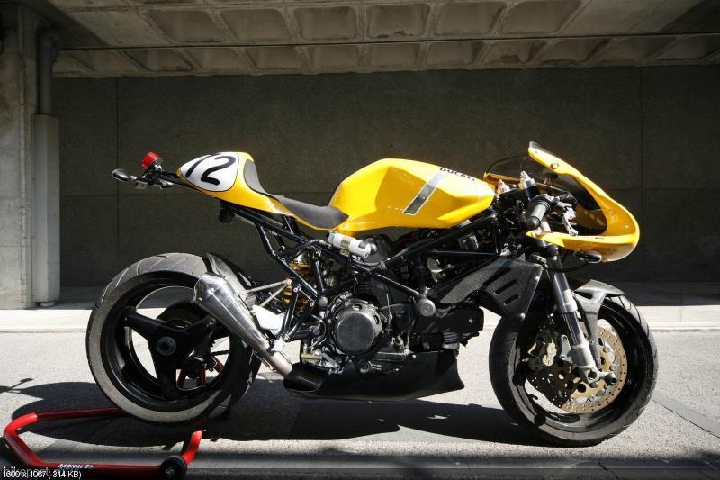 Мотоцикл Sport 944  на базе Ducati ST2