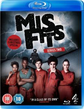 Отбросы / Долбанутые / Misfits  [Сезоны: 1-5] (2009-2013) BDRip 1080p