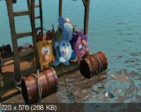 Смешарики. Начало (2011) DVD9 + DVD5 + DVDRip 1400/700 Mb