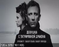 ������� � ����������� ������� / The Girl with the Dragon Tattoo (2011) DVD9 + DVD5 + DVDRip 2100/1400/700 Mb