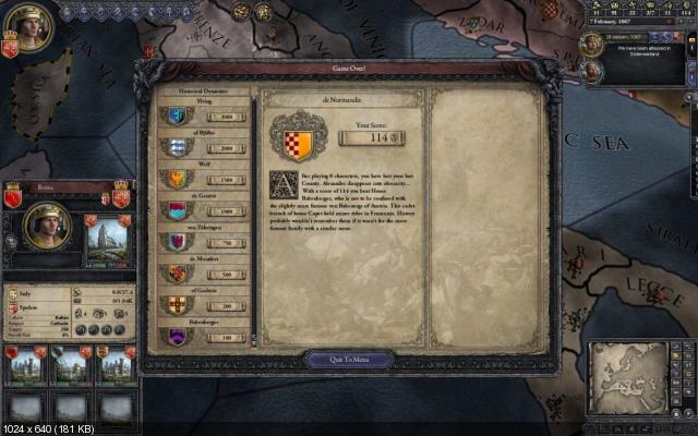 Crusader Kings II (PC/2012/ENG)
